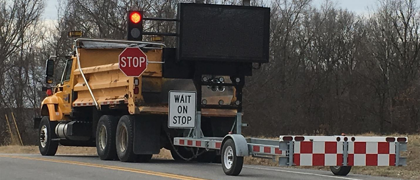 Truck Mounted Automated Flagger